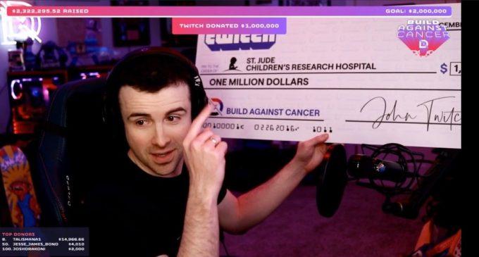 За 24 саати успеа да собере 2,000,000 долари за добротворни цели