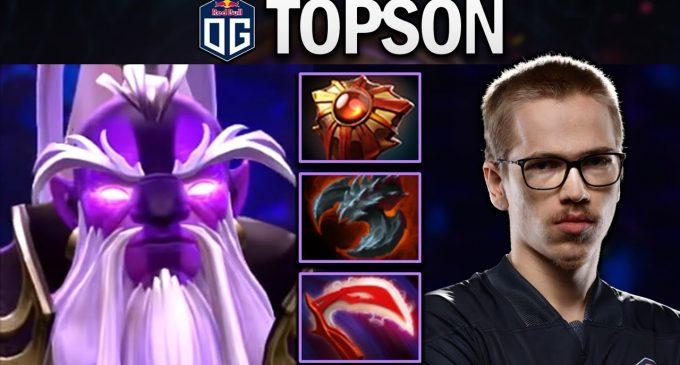 OG Topson со херојот Void Spirit без загубен натпревар