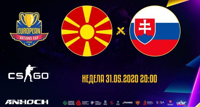 Македонија во полуфинале. Словачка победена со 2-0