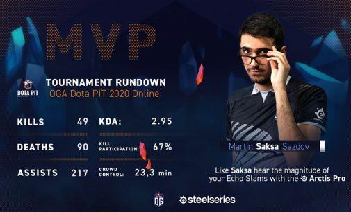 Saksa прогласен за МВП на турнирот OGA Dota 2 PIT 2020 Online