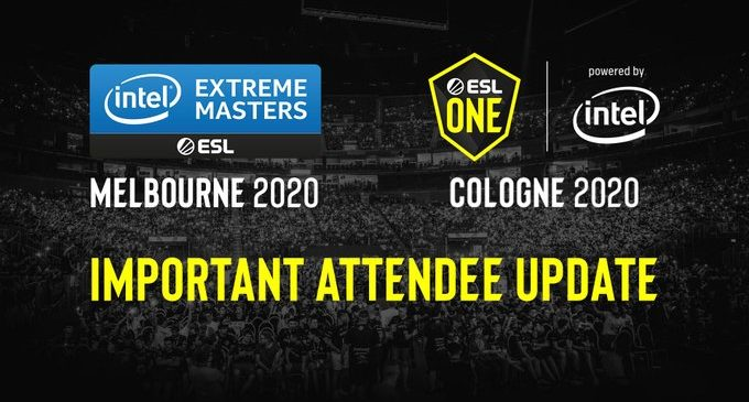 ESL со измени за ESL One Cologne и IEM Melbourne
