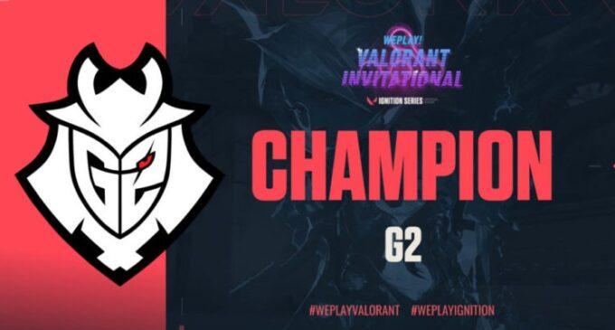 G2 Esports го освои Valorant WePlay! Invitational