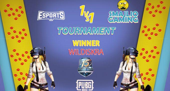 WILDISKRA e победникот на првиот 1VS1 женски турнир во PUBG Mobile организиран од Smajlio Gaming
