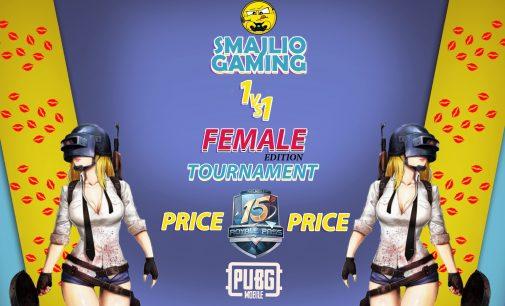 Smajlio Gaming со женска верзија  на 1v1 турнир во PUBG Mobile