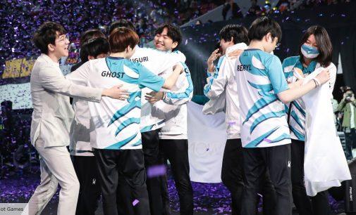 DAMWON ја врати титулата на Светски шампиони во LoL во Кореја