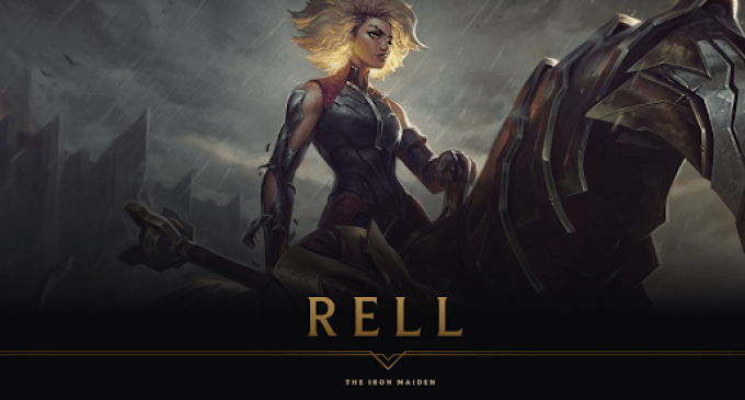 Rell – The Iron Maiden е следниот LoL херој