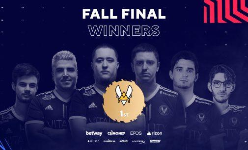 Vitality го освои Blast Premier Fall Final