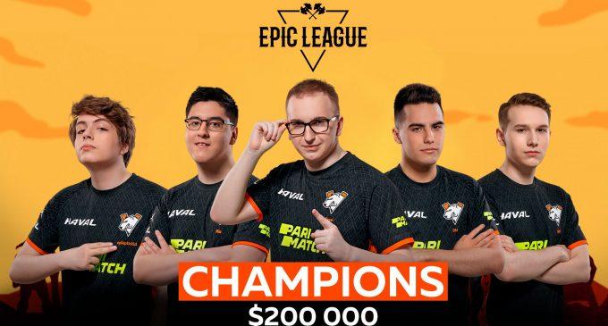 Virtus Pro победници на EPIC League