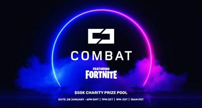 Combat Gaming организира Fortnite хуманитарен натпревар тежок $50.000