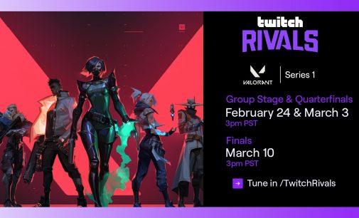 Twitch Rivals го најавија Valorant Series 1