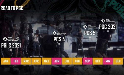 PUBG Esports со нова структура во 2021 година