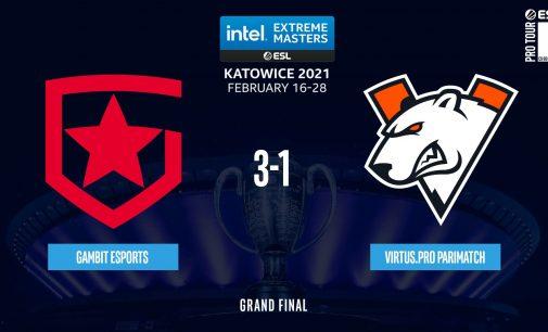Gambit Esports се победници на IEM Katowice 2021