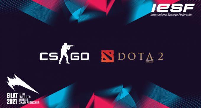 CS:GO и Dota 2 официјални наслови на Светското првенство организирано од Меѓународната Еспорт Федерација