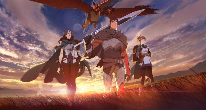 Официјален трејлер за Dota:Dragon's Blood