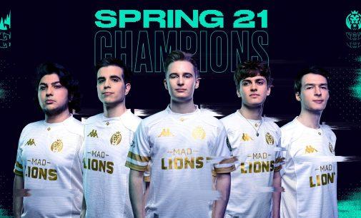 MAD Lions го освоија својот прв LEC шампионат со неверојатен reverse sweep против Rogue