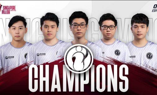 Invictus Gaming победници на ONE Esports Dota 2 Singapore Major