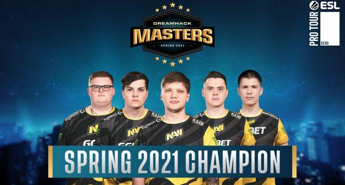 Na'Vi се победници на DreamHack Masters Spring 2021