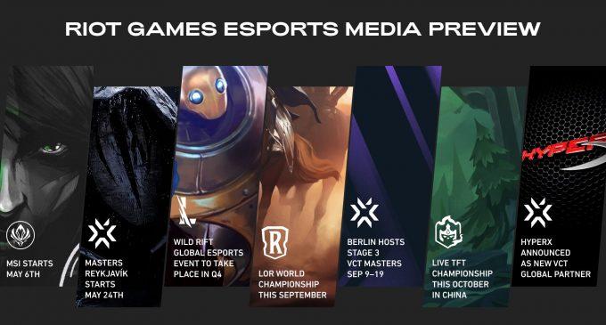 Riot Games ги открива своите еспорт планови за Valorant, Wild Rift и Teamfight Tactics