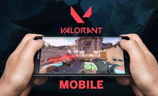 VALORANT доаѓа за мобилен телефон