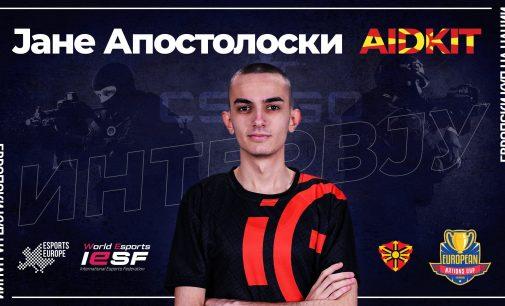 "Интервју со Јане ""aidKiT"" Апостолоски од AIRLYA и македонски репрезентативец"